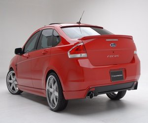 Ford Focus Sedan 2008 2009 2010 Body Repair Manual