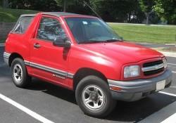 2000-2004 Chevrolet Tracker Workshop Service Repair Manual