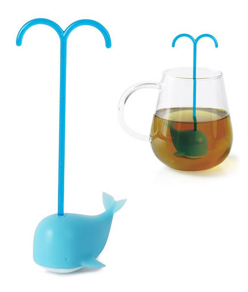 blue whale tea infuser
