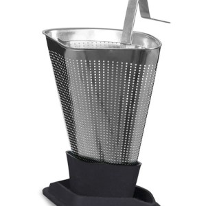 Viva tea strainer ash grey