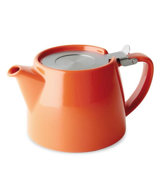 Stump teapot, mandarin