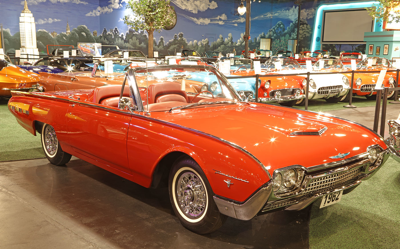 1962 Ford Thunderbird Convertible Welcome To Cars Of Dreams Museum 1954