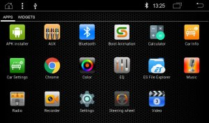 """RADICAL R-C10AD2 Audi A4 Infotainment Android T8""""ohne Kartenmaterial"""""""
