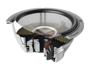 Audison TH6.5 II Sax - SET 16,5cm Woofer inkl Gitter
