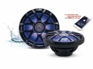CALIBER CSM 20RGB/B Marine Lautsprecher mit LED
