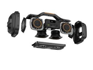 Caliber HBB460BT - Bluetooth Lautsprecher, USB Wiedergabe, Mikro Eingang, Akku, ExtraBass