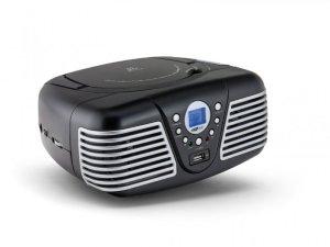 Caliber HBC430BT - Portabler FM-Radio mit CD, Bluetooth, USB, Aux-In