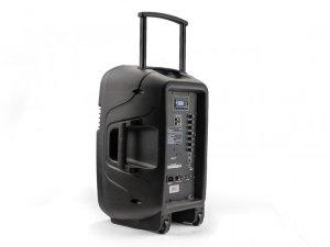 "Caliber HPA604BT - 15"" Aktiv-Trolleylautsprecher mit Akku, Bluetooth, USB"