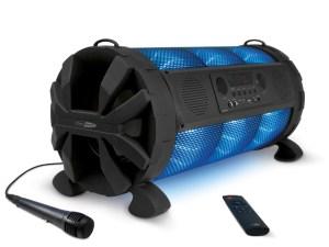 Caliber HPG519BT - Bluetooth 2.1 Tube-Lautsprecher mit LED Licht USB/SD/Karaoke
