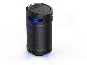 Caliber HPG543BTL - 360° Bluetooth Lautsprecher, USB Wiedergabe, Mikro Eingang, Akku, ExtraBass