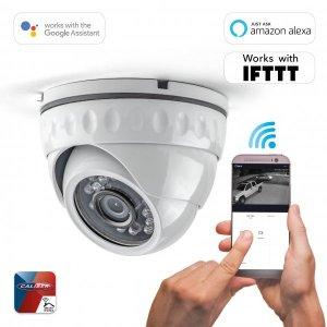 Smarthome Caliber HWC402 Deckenkamera HD 1080P, IP66, APP, Tuya