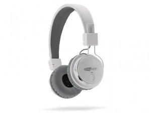CALIBER MAC501BT/W - On Ear Kopfhörer, FM-Radio, SD, Bluetooth v4.2, Weiß