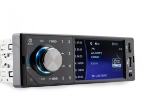 Caliber RMD402DAB-BT - 1DIN DAB+/FM-Receiver, Bluetooth/USB/SD, Variable Farben inkl DAB+ Antenne