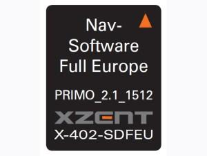 Xzent X-402-SDEFU microSD-card mit iGO Primo 47Länder