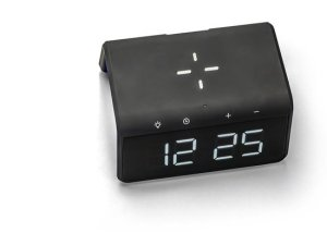 "Caliber HCG019Qi/B - Qi Ladestation ""pad mit fast charge"" Uhrenanzeige, Nachtlicht"