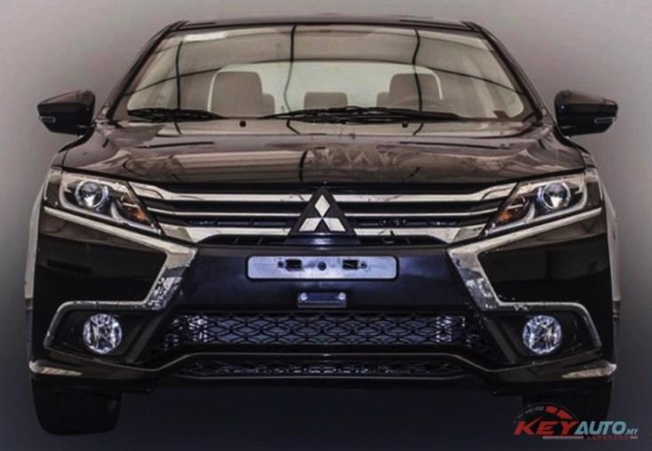 2017-Mitsubishi-Grand-Lancer-front-leaked-image