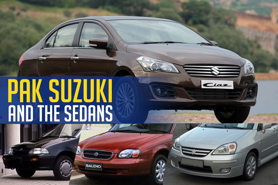 Pak Suzuki And The Sedan Segment