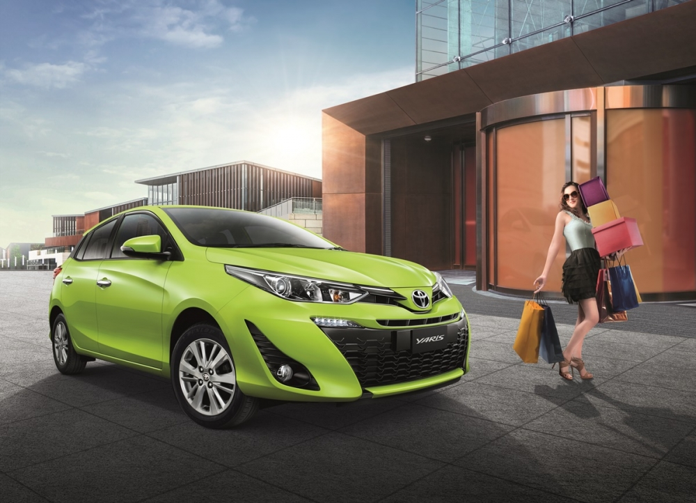 2018 Toyota Yaris Hatchback Launched In Thailand Carspiritpk