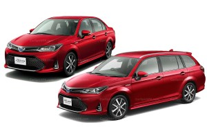 2018 Toyota Corolla Axio and Fielder Refresh Officially