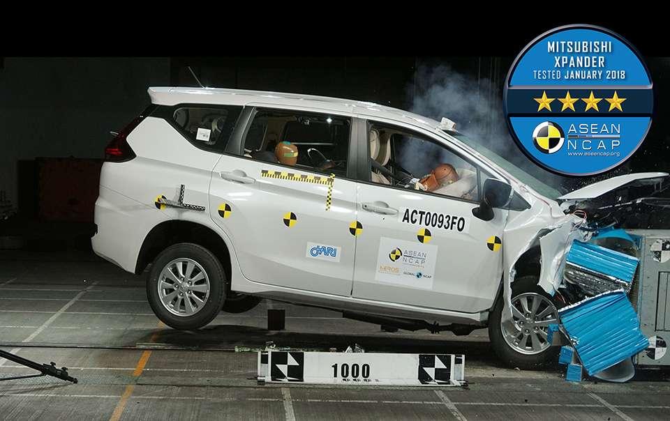 Mitsubishi Xpander Scores 4 Stars In ASEAN NCAP Crash Test