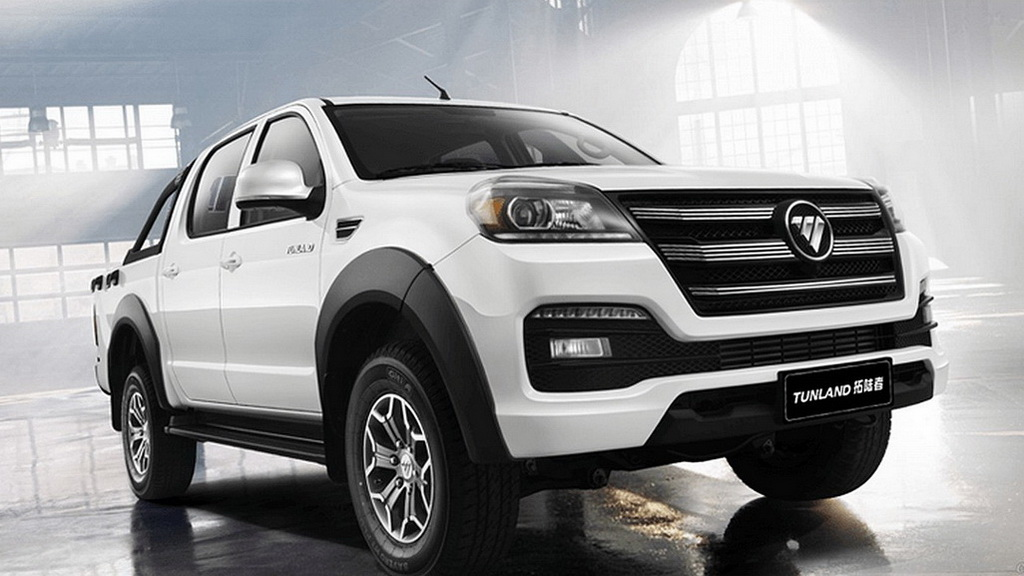 2018 Foton Tunland Facelift Launched In China Carspiritpk