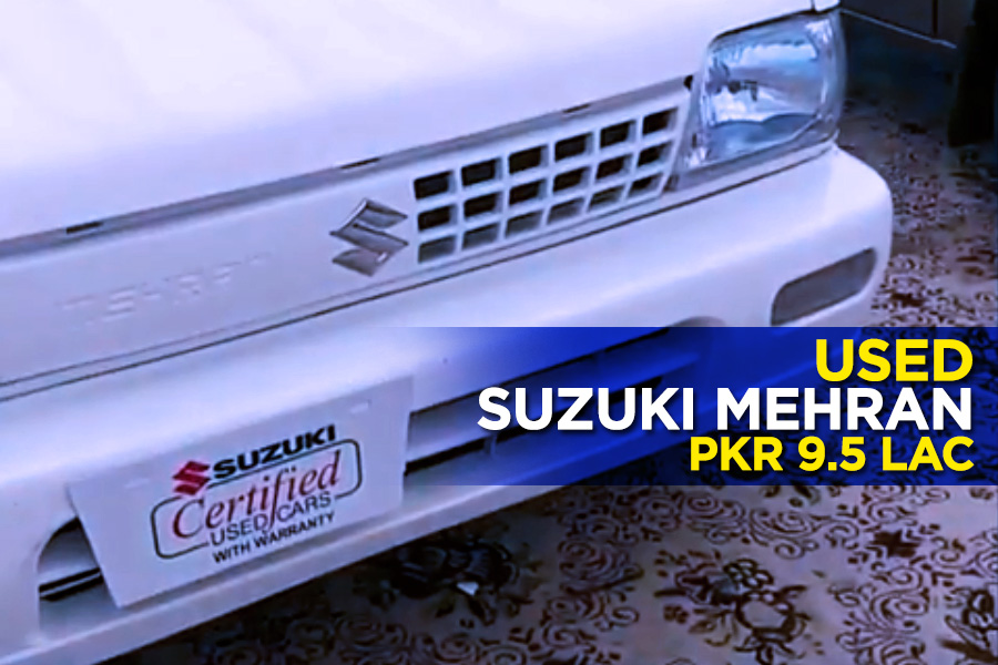 Used Suzuki Mehran for PKR 9.5 lac