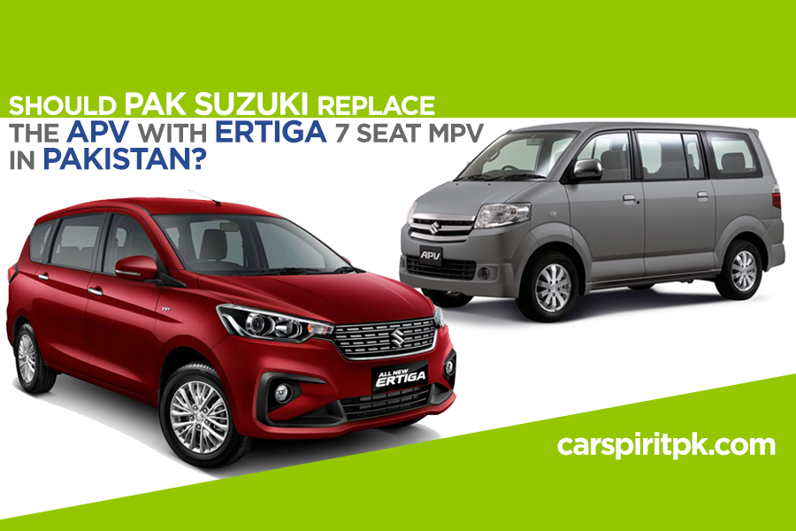 Pak Suzuki Should Replace the APV with New Ertiga