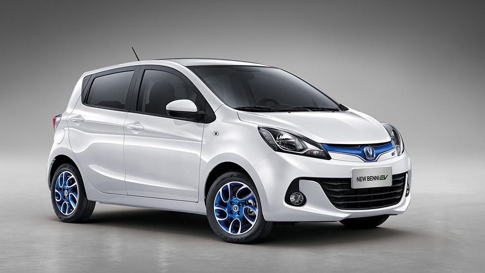 Changan Launches the New Benni EV360 in China