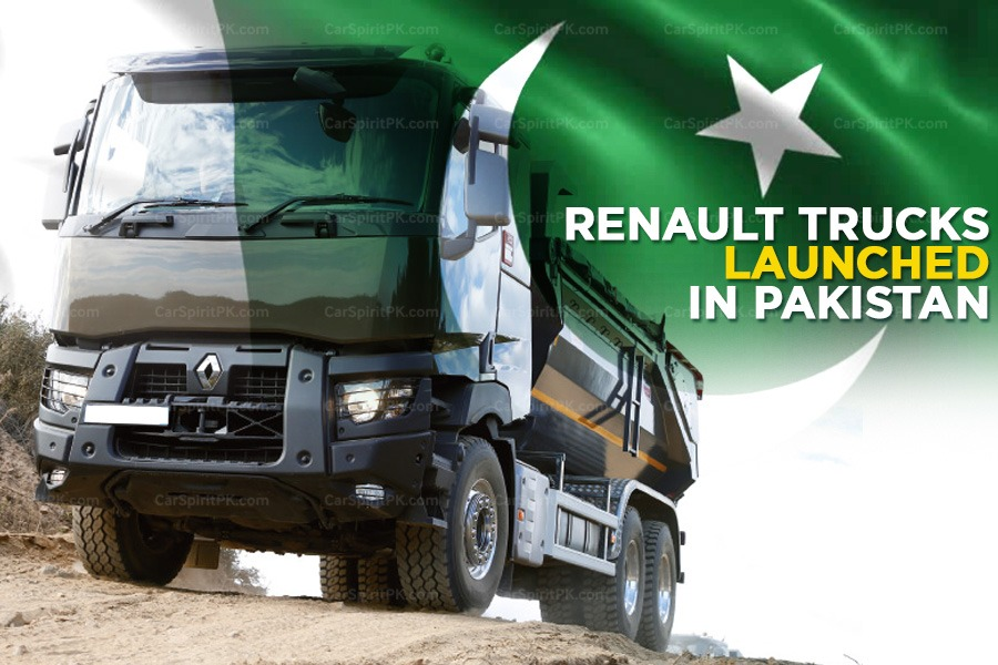 Ghandhara Nissan Launches Renault Trucks In Pakistan