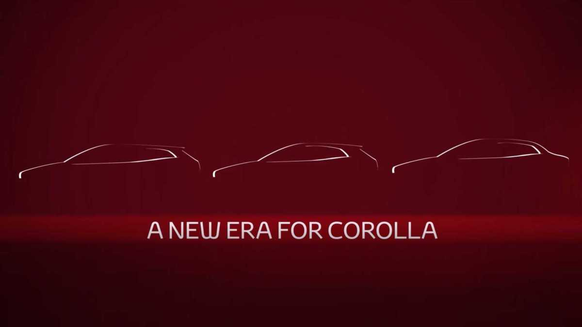 Next Gen Toyota Corolla Altis Teased Ahead of Debut