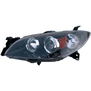 2005 Mazda 3 Headlight Assembly Left Driver Side  Halogen