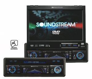 Car audio speakers: Soundstream stereo