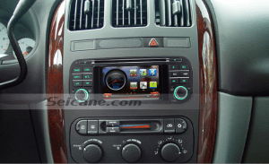 How to simply install a 2002 2003 2004 2005 2006 Chrysler Sebring car stereo with TV USB SD AUX