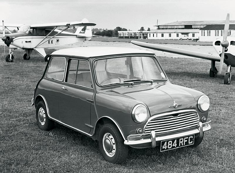 1959 Austin Mini Meilensteine
