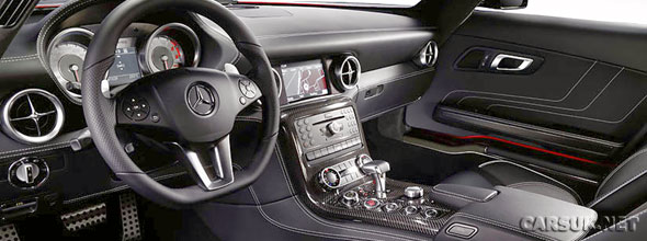 Mercedes SLS AMG - now it\'s the interior