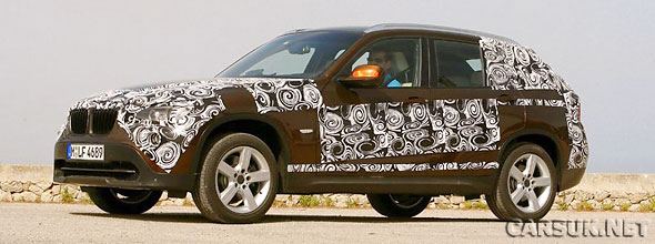 BMW has released teaser images of the new BMW X1 compact SUV