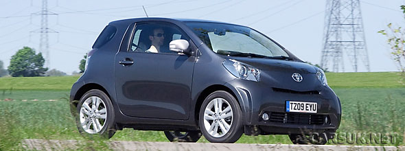 Toyota has launched a new version of the iQ - The Toyota iQ3 - with a bigger engine and spec