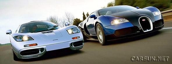 The McLaren F1 & Bugatti Veyron
