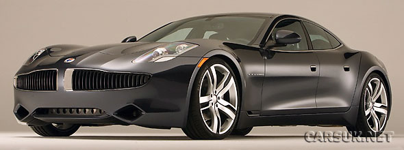 The Fisker Karma - should move to market quickly with new funding