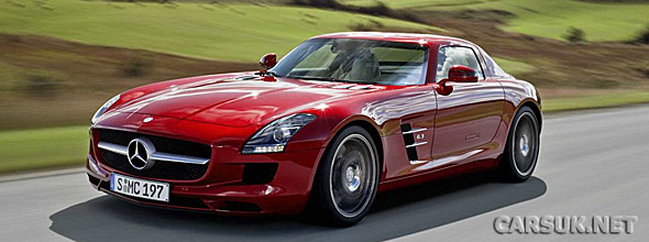 Mercedes has now sent us a big photo gallery of the SLS AMG Gullwing