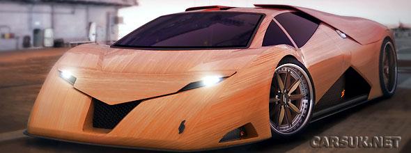 Splinter - The Wooden Supercar