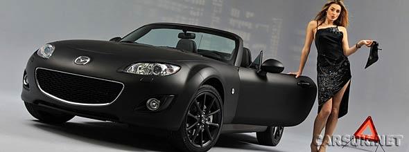 The Mazda MX5 Matte & Black
