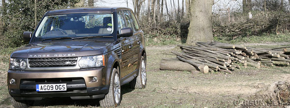 The 2010 Range Rover Sport Road Test