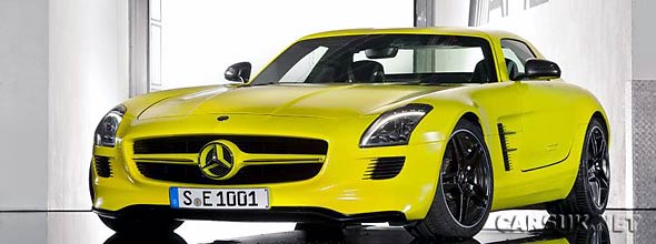 The Mercedes SLS AMG E-Cell Prototype