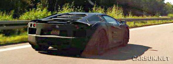 The Lamborghini Jota Spy