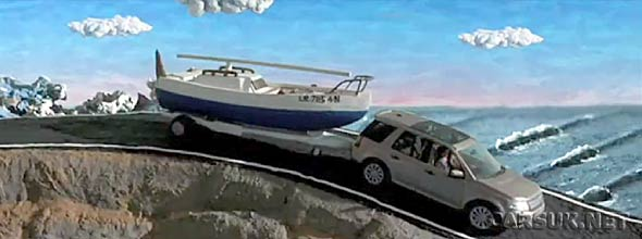 The 2011  Land Rover Freelander 2 Claynation Advert