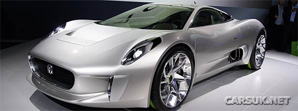 Jaguar C-X75 YouTube Hit