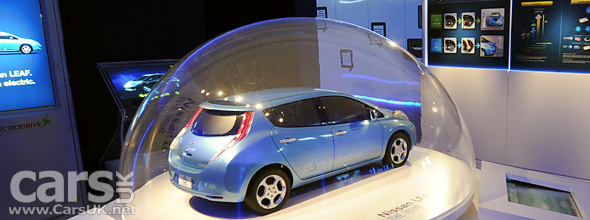 Nissan LEAF at Geneva