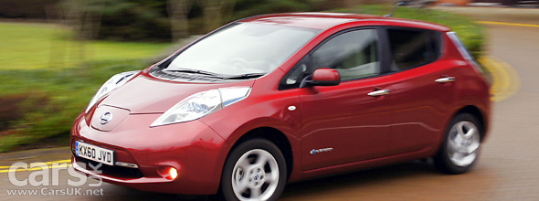 Faulty Vehicle Control Units in Nissan LEAF to be reprogrammed