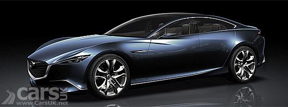 Mazda Shinari Concept will influence 2013 Mazda RX-9